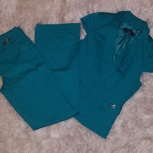 NY&Co Teal Suit